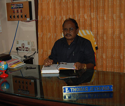 Thomas Jeyapaul, Chairman